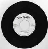 SALE ITEM - Peter Hunigale - Amazing Love / Mafia & Fluxy - Amazing Love Dub (Cousins Records) 7""